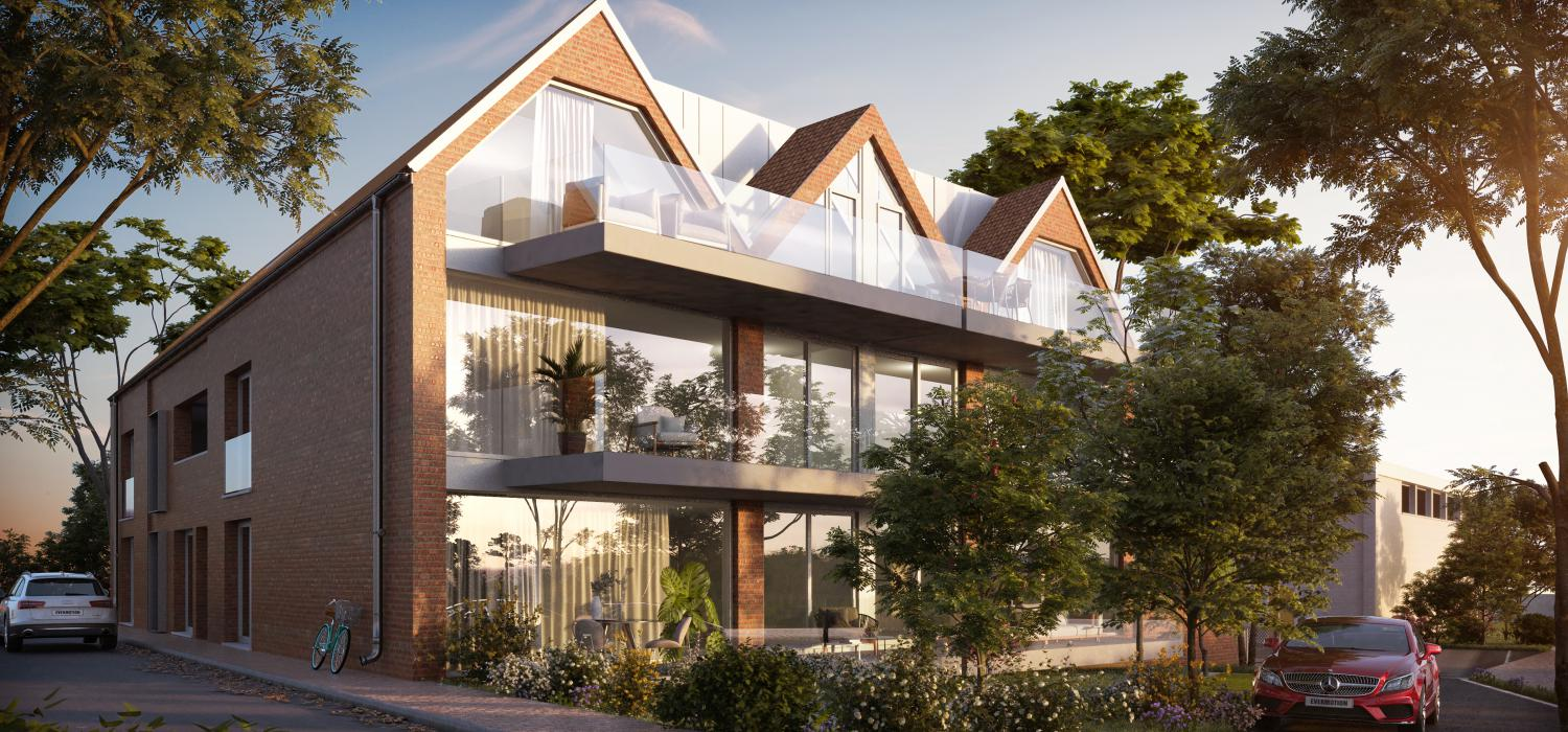 Residentie Vlasmeer is een prachtig project in Kuurne