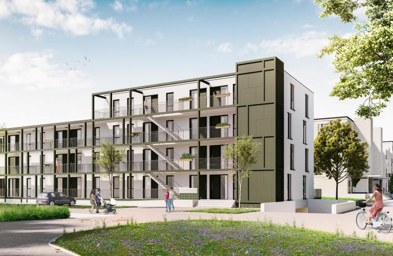 Smart-One appartementen - De Trialde